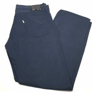 Levis 514 Chino Straight Pants Navy 34x30 AA00108